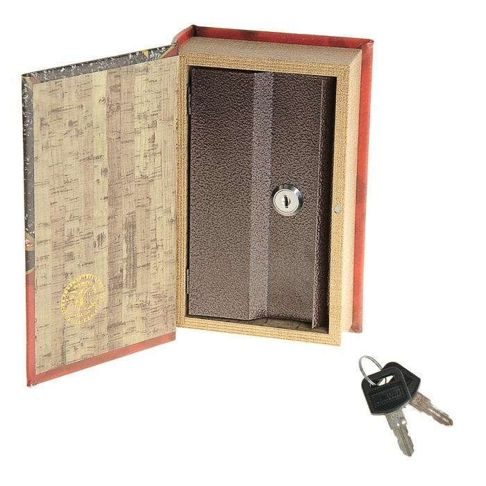 Книга-сейф недорого подарок 97