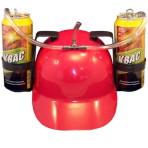 Каска  Красная с подставками под банки