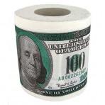 Туалетная бумага «Доллары», «Евро»