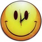 Часы Смайл стеклянные
