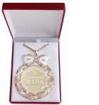 Медаль в бархатной коробке «Жена»
