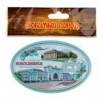 Магнит открывашка «Новосибирск»
