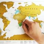 Карта путешественника на английском языке
