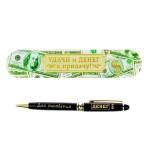 Ручка в металлическом футляре «Для рисования денег»