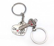 Брелоки для влюбленных «Ключ от сердца»