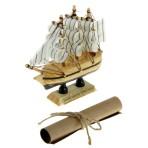 Корабль сувенирный «Навстречу счастью»