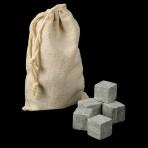 Камни для виски, 6 шт, в мешочке