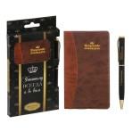 Подарочный набор «Искусство побеждать»: записная книжка и ручка