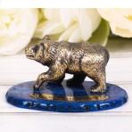 Сувенир настольный «Медведь. Новосибирск»