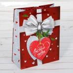 Пакет «От всего сердца», 23 х 18 см
