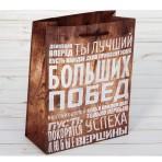 Пакет «Больших побед», 18 × 23 × 8 см