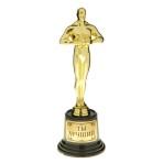 Подарочная статуэтка  Оскар «Ты лучший»