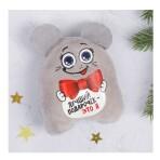 Мягкая мышка-магнит «Лучший подарочек — это я»