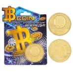 Монета «Биткоин»