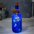 Светильник с гирляндой в бутылке «Загадай желание»