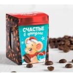 Кофейные зерна в шоколаде «Счастье в гранулах», 30 г
