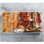 Часы настенные «Самовар», 26х52 см, под заказ