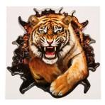 Наклейка на авто «Тигр» 20 х 20 см