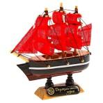 Корабль сувенирный Алые паруса, под заказ