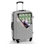 Наклейка на чемодан «Деньги», 41 × 39 см
