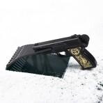 Автомобильный скребок «Пуля дура» в форме пистолета
