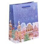 Пакет Новогодний, 18 × 23 × 8 см