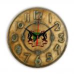 Часы настенные Новосибирск, 28 см, под заказ